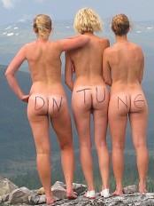 naken norsk kjendis naking damer