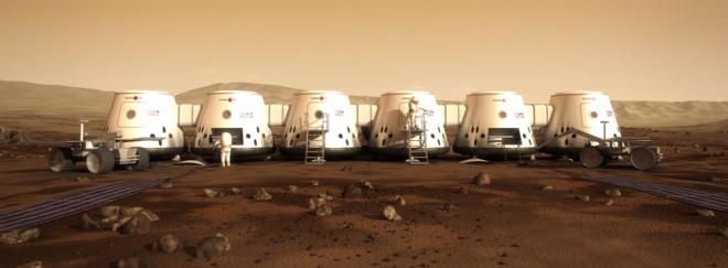 Enveisbillett til Mars- det neste store skritt for menneskeheten