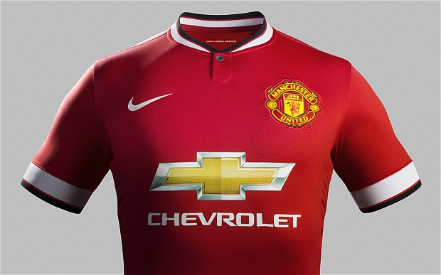Manchester United reveal new home kit for 2014-15 Premier League season