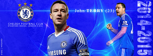 John TERRY - Season 2014/15 facebook cover screen
