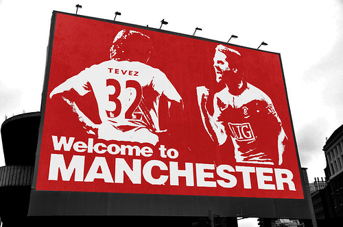 Welcome to Manchester Michael Owen
