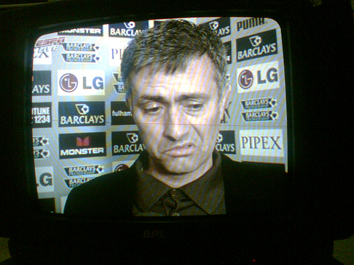 Jose Mourinho after Chelsea's loss to Fulham...