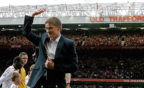 Waving goodbye: Ole Gunnar Solskjaer's first professional club want him as their manager