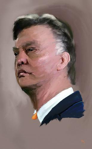 Manchester United - det holder nå, Louis!
