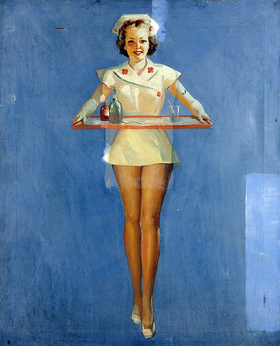 Doctor's Orders by Gil Elvgren, 1939