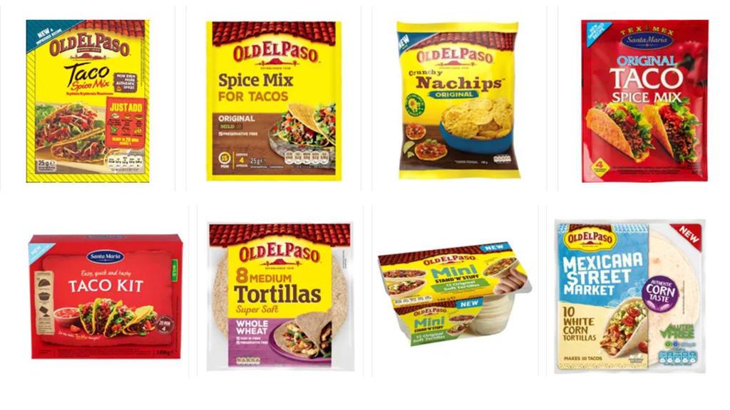 Priskrig på Taco- og pizza-produkter!