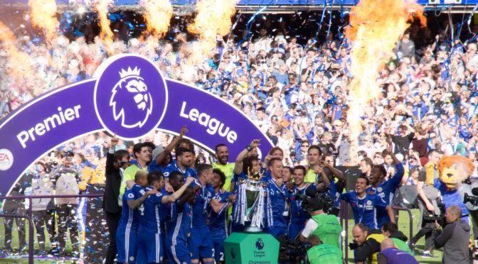 Premier League – kun åtte kamper igjen …