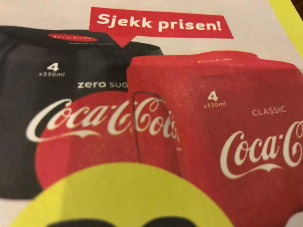 Norsk sjokolade og Cola på nett fra Sverige!