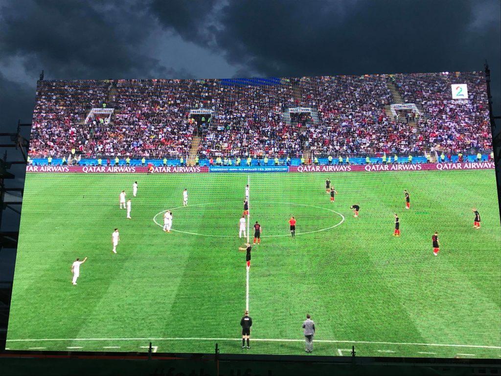 England ute, Frankrike - Kroatia til finalen!