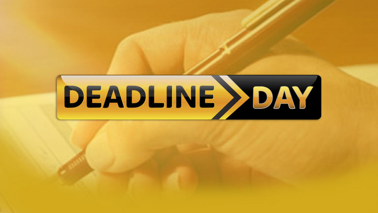 Deadline Day - nedtur?