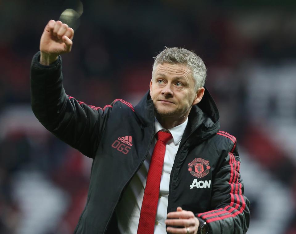 Manchester United er tvunget til å ansatte Solskjær