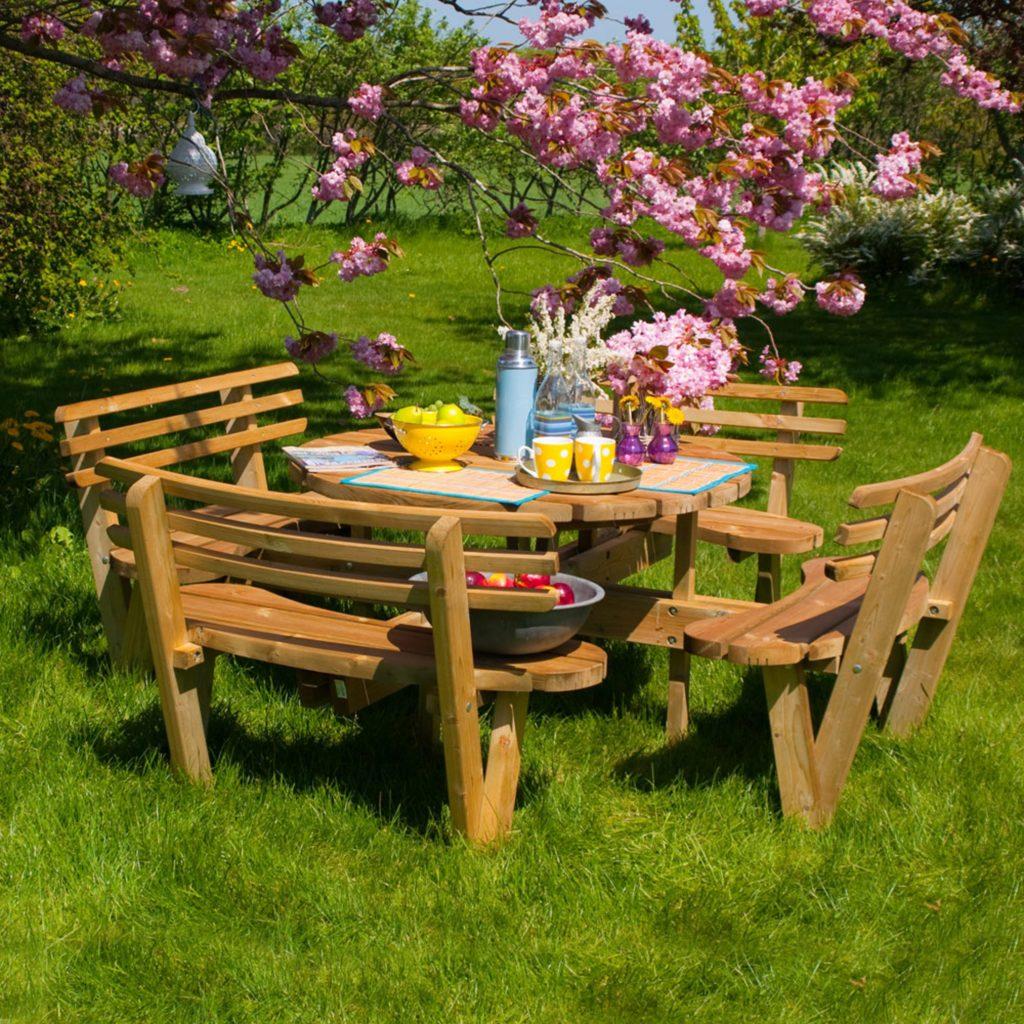Har du hagemøblene klare? Det er vår!
