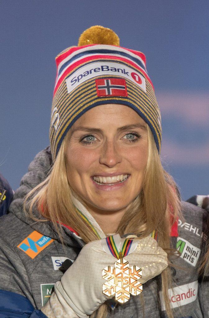 Therese Johaug - mer populær i Sverige enn i Norge