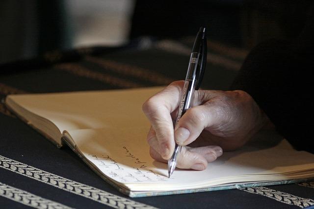 Forfatterspire? Skrive, skrive, skrive!