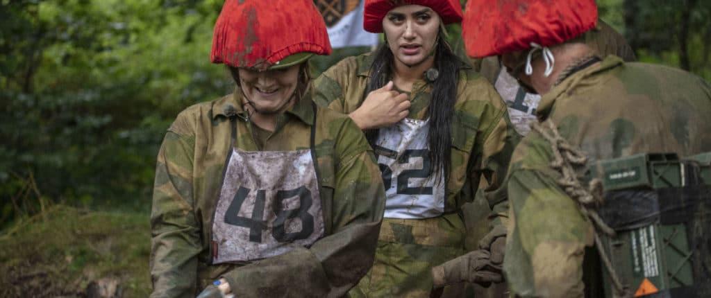 Tvillingene Wanda og Vita er to av deltagerne i Kompani Lauritzen