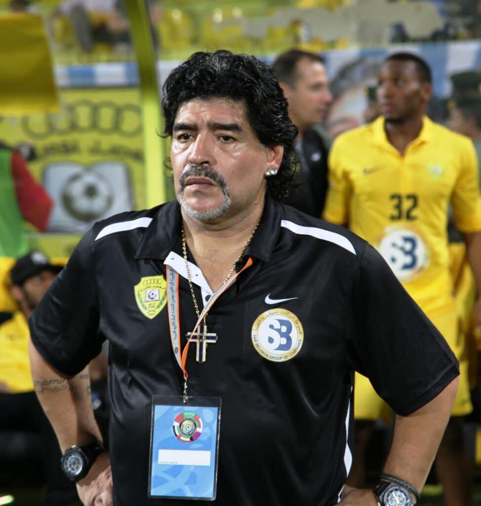 Diego Armando Maradona er død