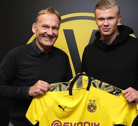 Dortmund selger Haaland i sommer